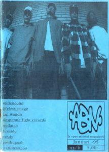 Omslaget till Abnormalcy #06-1995