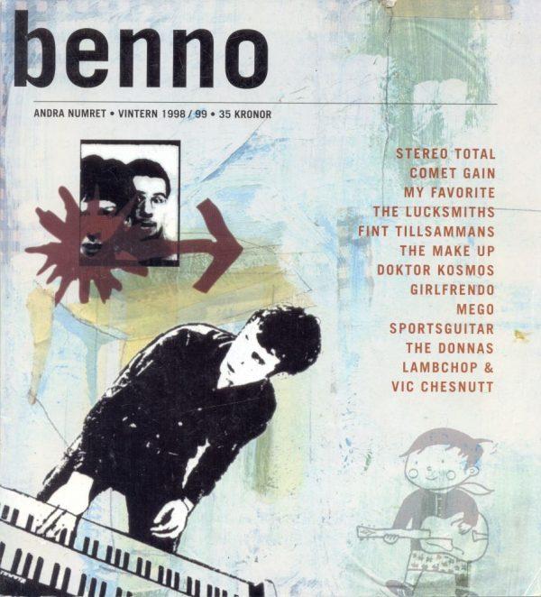 Omslaget till Benno #2
