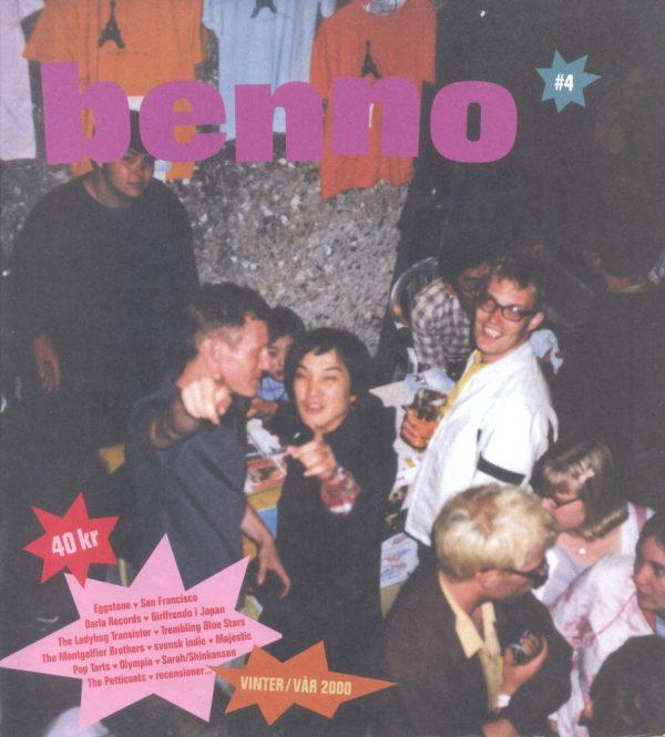 Omslaget till Benno #4