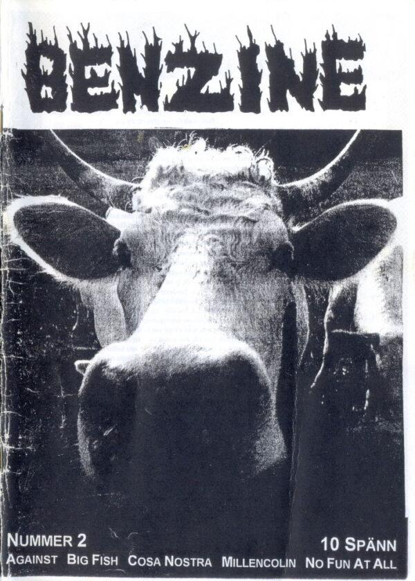Omslaget till Benzine #02 (1995)