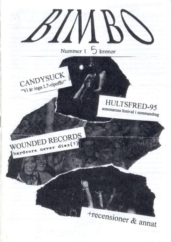 Omslaget till Bimbo #1-1995