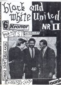 Omslaget till Black And White United Nr 02 (1984)