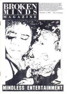 Omslaget till Broken Minds #1994-04