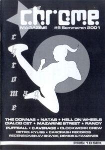 Omslaget till Chrome #06-2001