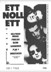 Omslaget till ettnollett #05-1986