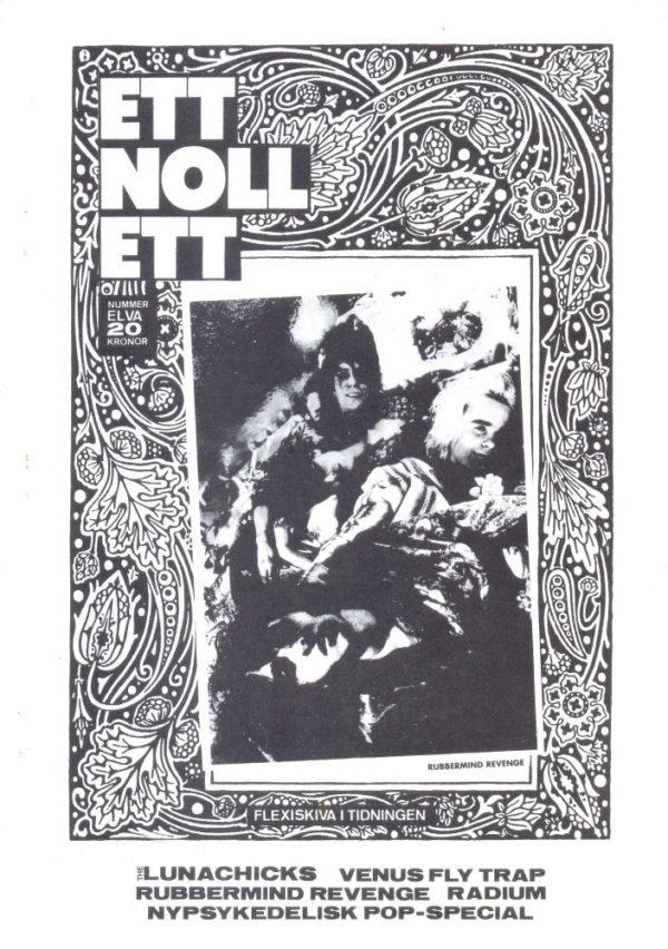 Omslaget till ettnollett #11-1989