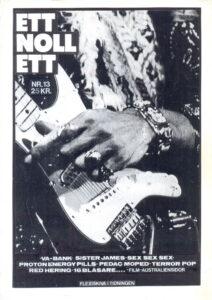 Omslaget till ettnollett #13-1990