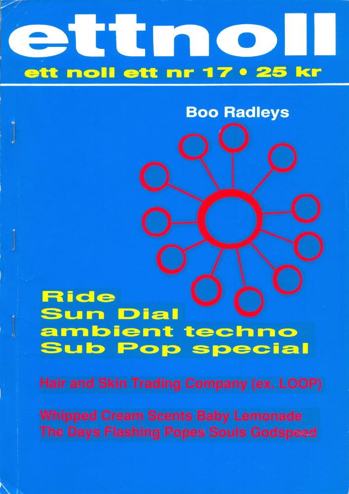 Omslaget till ettnollett #17-1993