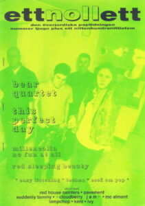 Omslaget till ettnollett #21-1995