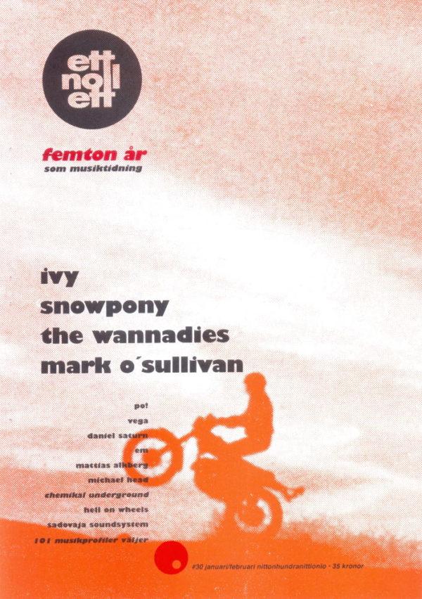 Omslaget till ettnollett #30-1999