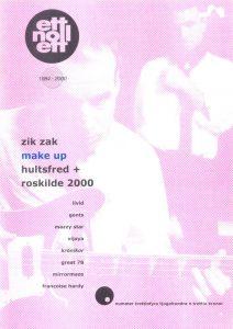 Omslaget till ettnollett #34-2000