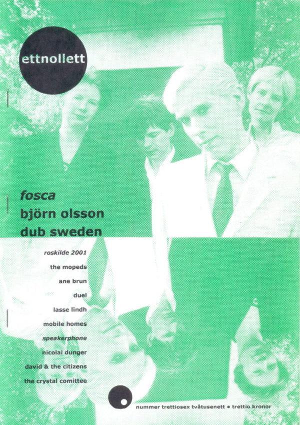 Omslaget till ettnollett #36-2001