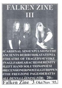 Omslaget till Falken #03 (1995)
