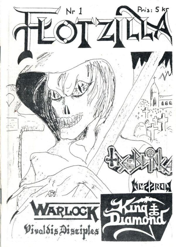 Omslaget till Flotzilla #01 (1988)