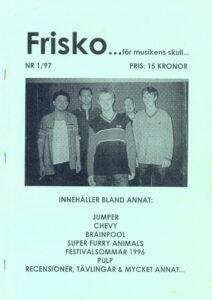 Omslaget till Frisko #01 - 1997