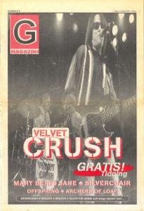 Omslaget till Groove #02-1995
