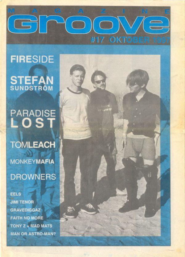 Omslaget till Groove #17-1997