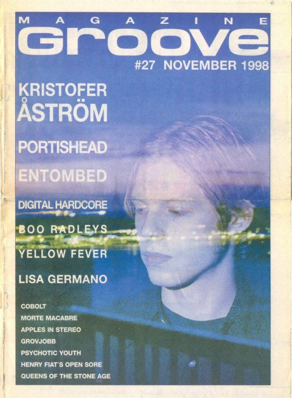 Omslaget till Groove #27-1998