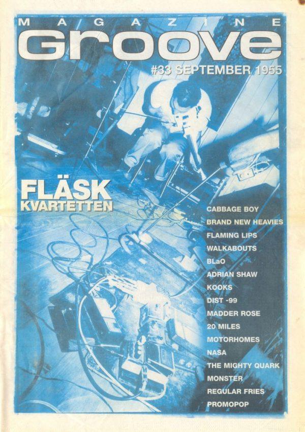 Omslaget till Groove #33-1999