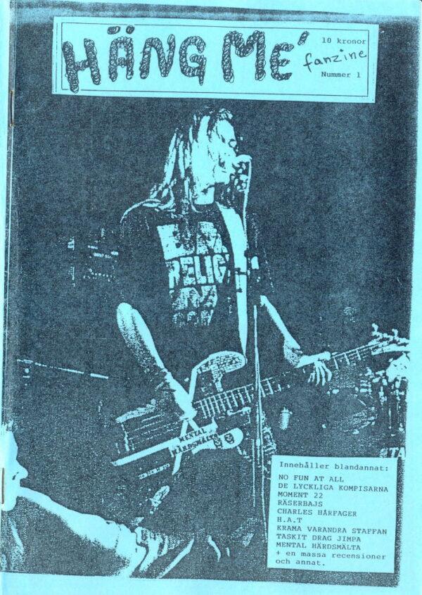 Omslaget till Häng Me' Nummer 1 (1993)