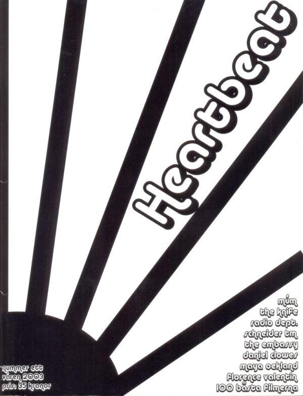Omslaget till Heartbeat #2003-01