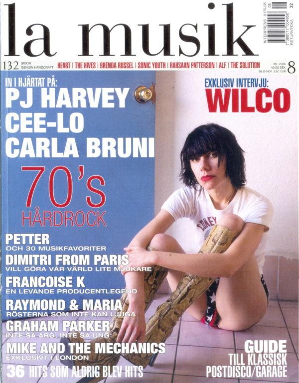 Omslaget till La Musik #08 / 2004