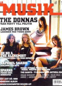 Omslaget till La Musik #11 / 2004