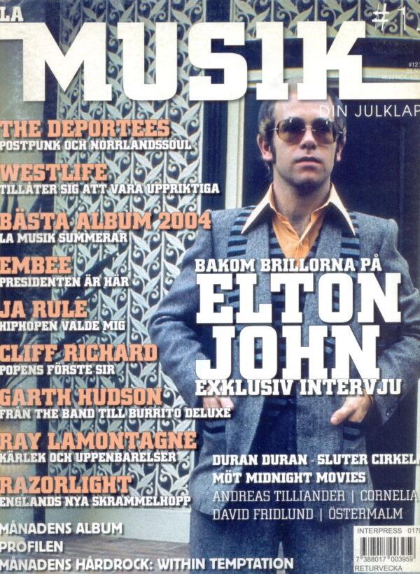 Omslaget till La Musik #12 / 2004