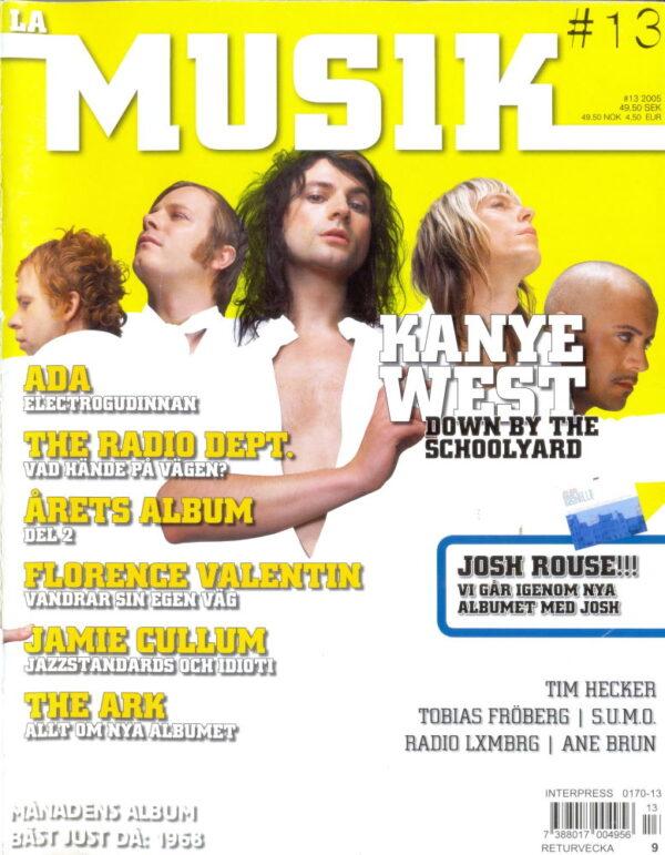 Omslaget till La Musik #13 / 2005