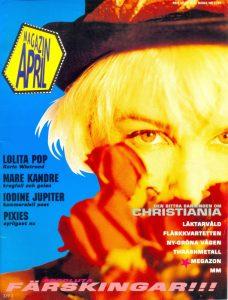 Omslaget till Magazin April #1989-02