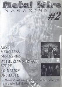 Omslaget till Metal Wire #2 - 1999