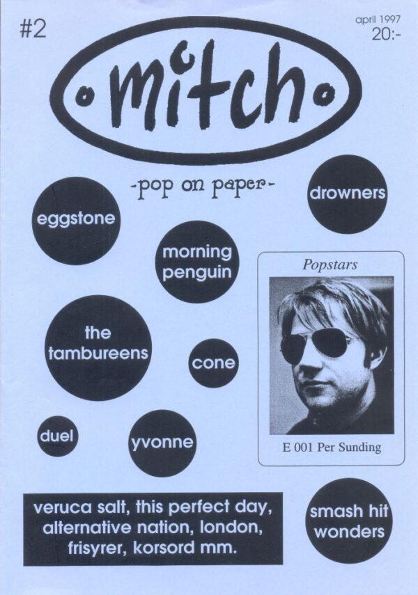 Omslaget till Mitch #02 (1997)