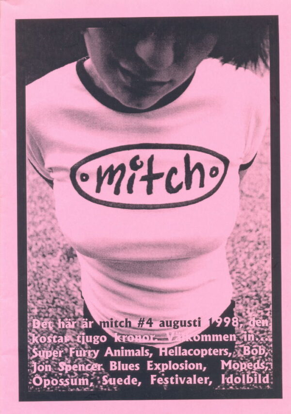 Omslaget till Mitch #04 (1998)