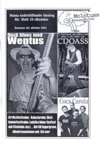 Omslaget till Molntuss #1 (2001)