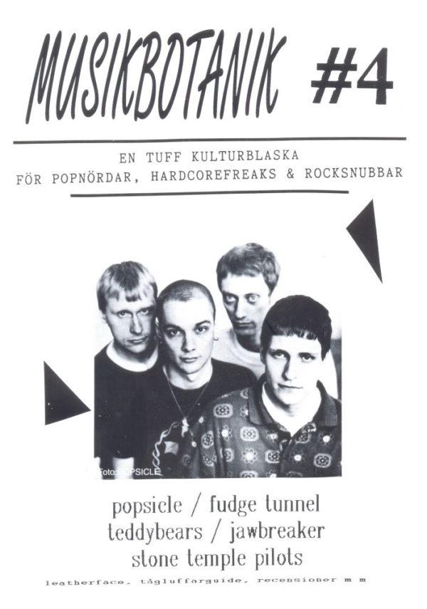 Omslaget till Musikbotanik #04