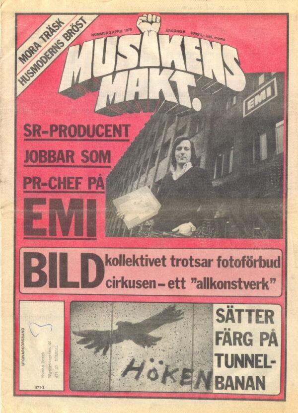 Omslaget till Musikens Makt 1978 / 03