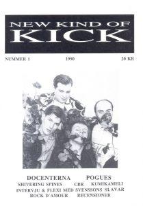 Omslaget till New Kind Of Kick #1990-1