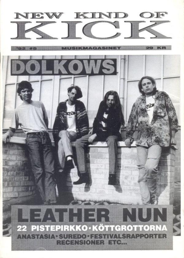 Omslaget till New Kind Of Kick #1992-5