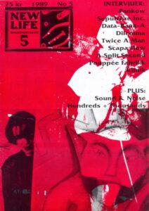 Omslaget till New Life #05 (1989)