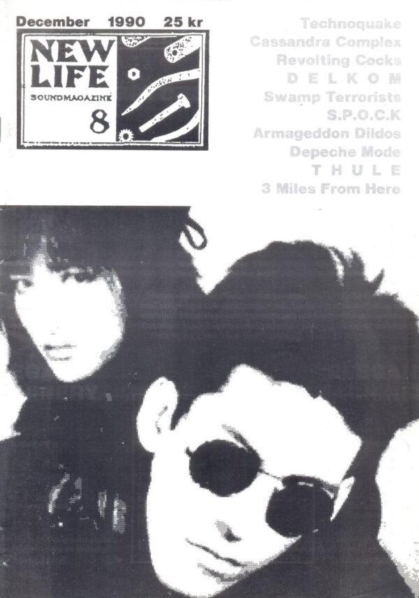 Omslaget till New Life #08 (1990)