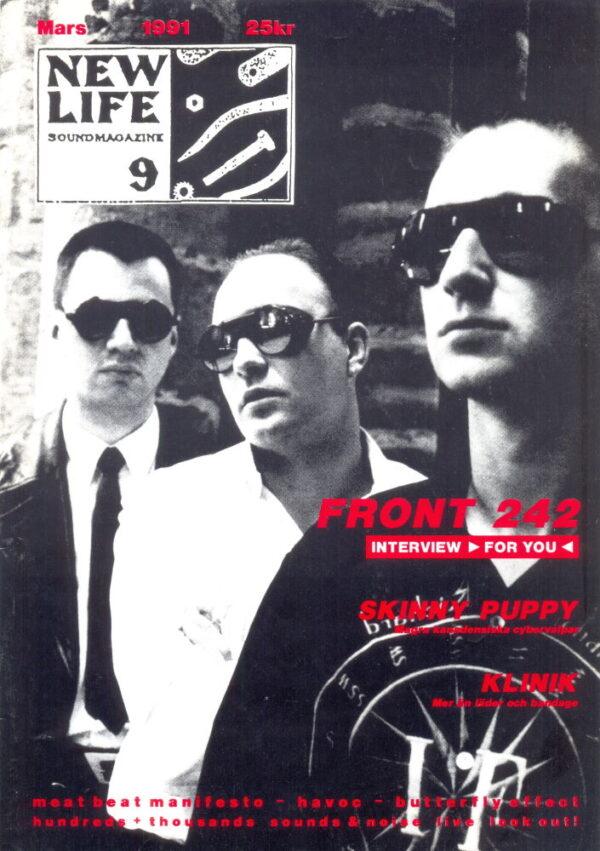 Omslaget till New Life #09 (1991)