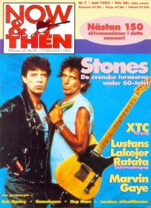 Omslaget till Now & Then #1992-7
