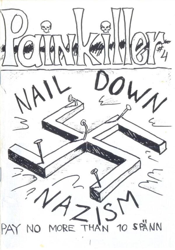 Omslaget till Painkiller #04 (1995)