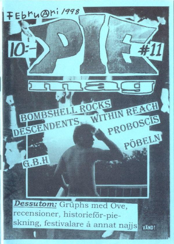 Omslaget till Pie Mag #11 (1998)