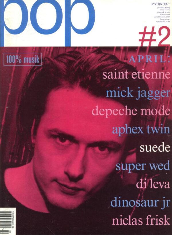 Omslaget till Pop #02 (1993)