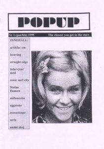 Omslaget till PopUp Nr 01 (1995)