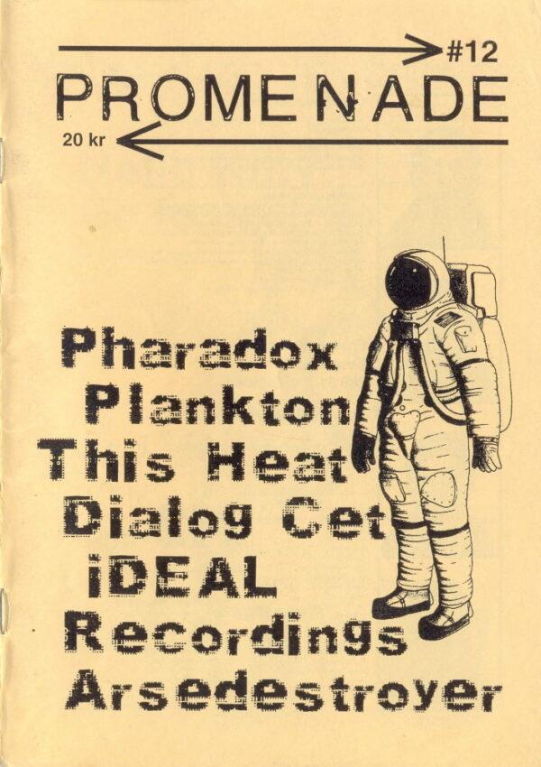 Omslaget till Promenade #12 (2001)