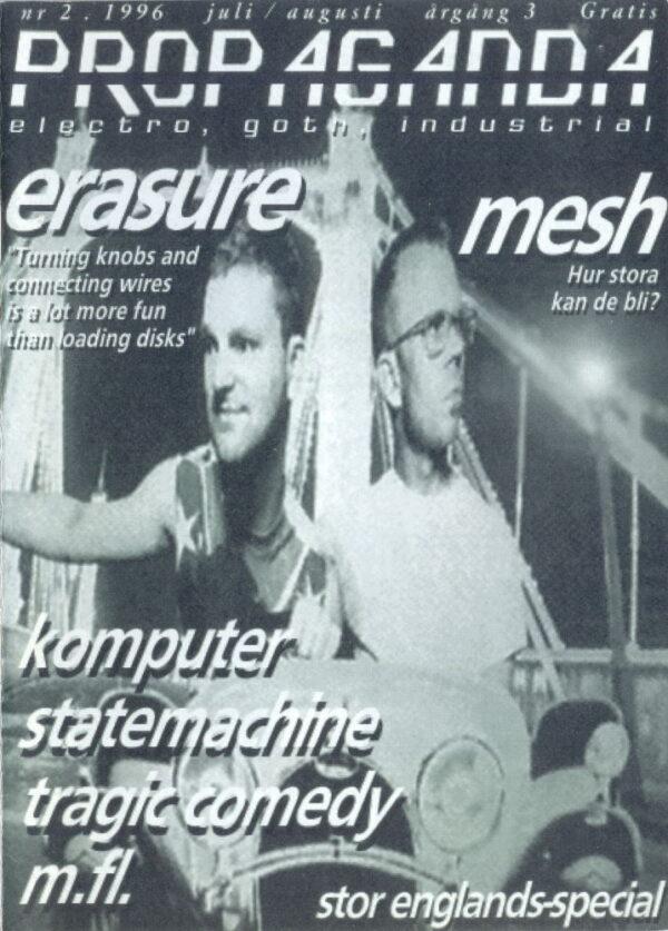 Omslaget till Propaganda #02 (1996)