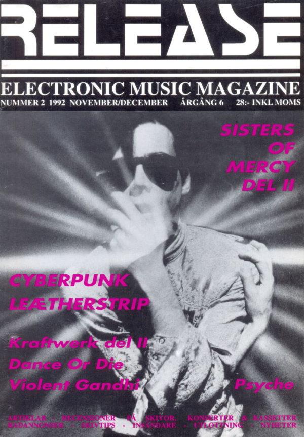 Omslaget till Release #1992-02