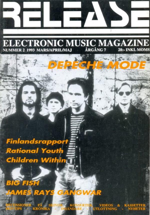 Omslaget till Release #1993-02
